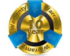 architect certificate 10-year-warranty