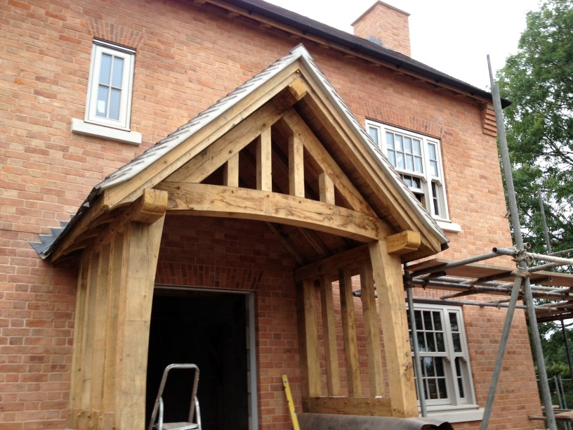 New Timber Frame detached house Staffordshire