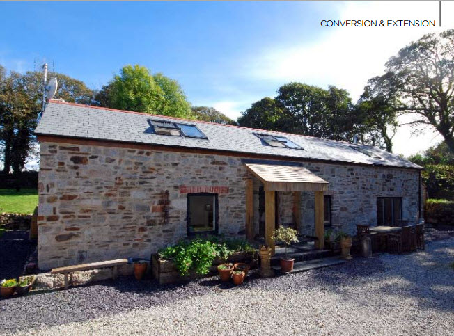 Cow Shed Conversion Cornwall